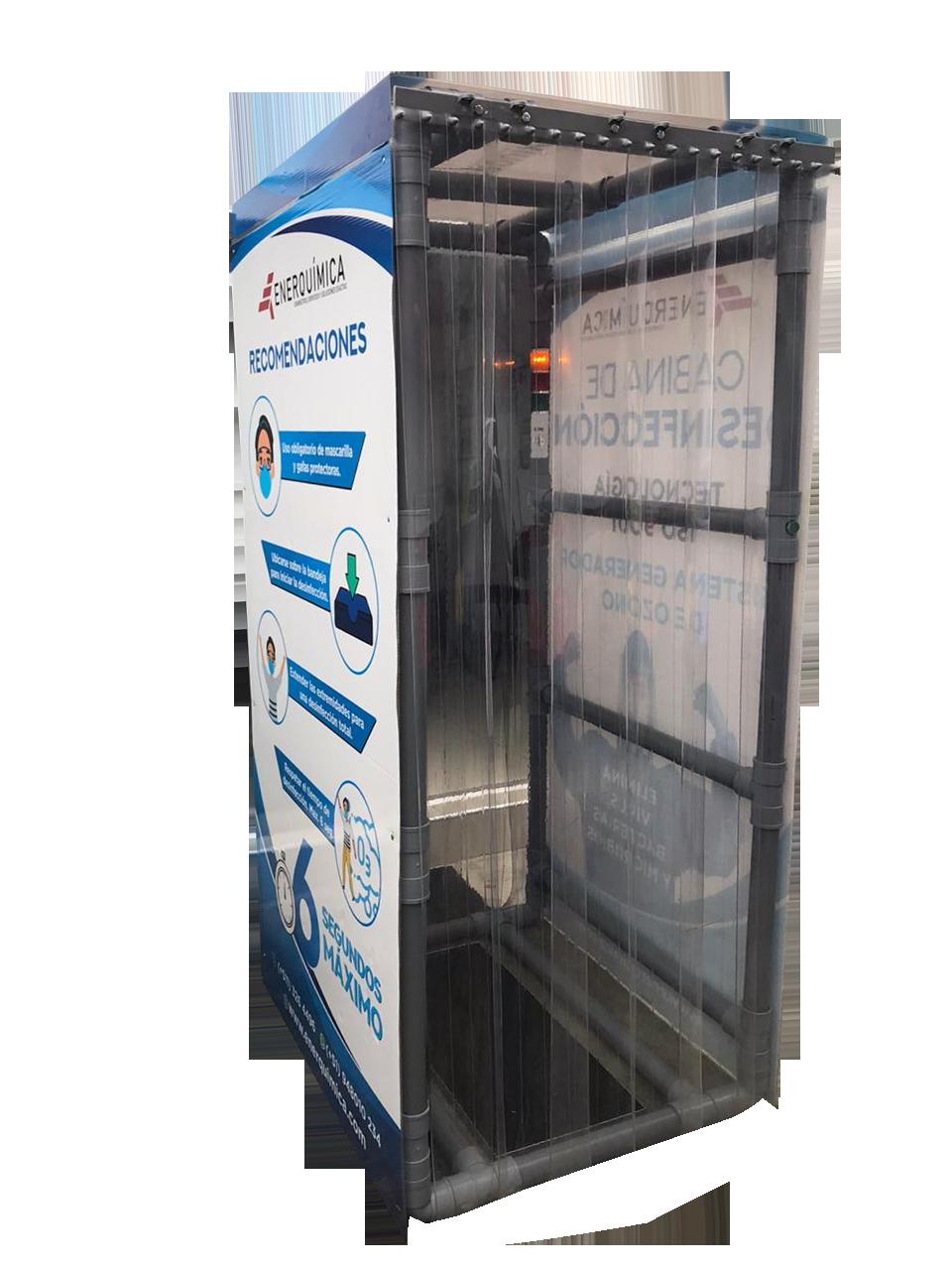 cabina de desinfeccion png - Ozonizadores