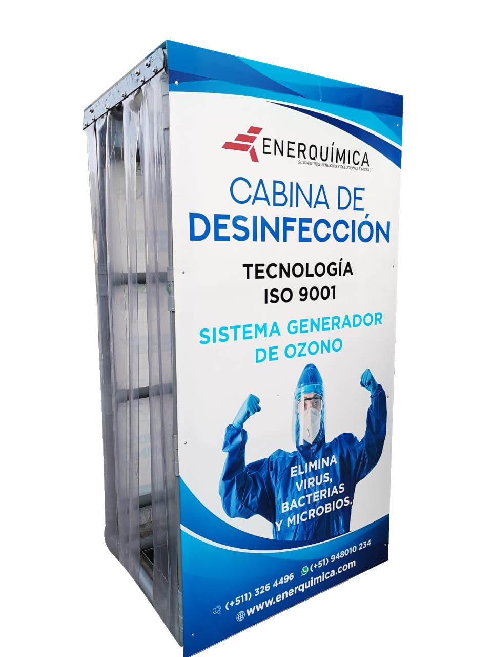cabina de desinfeccion - Portada
