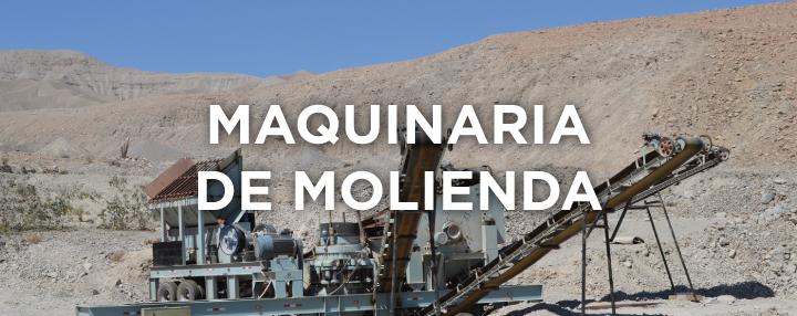 MAQUINARIA DE CHANCADO - Consultas